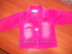 вельветовый пиджак - жилетка