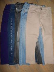 джинсы девочке 3-4-5 лет