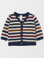 Вязаный джемпер H&M 1, 5-2 86-92-98 см свитер кофта