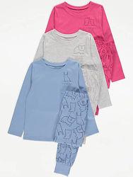 Пижама George 98-104-110-116см 3-4-5-6л кофта штаны набор комплект