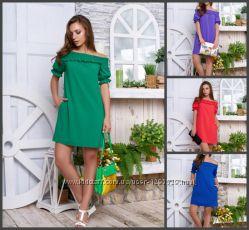 Романтические платья в расцветках и размерах