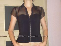 красивая чёрная блуза