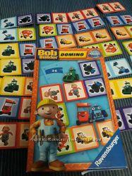 Домино детское 32 элемента боб строитель