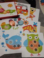 Мозаика для малышей с подвижными элементами