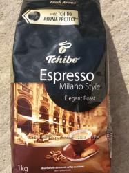 Кава в зернах Tchibo Milano style, 100 арабіка