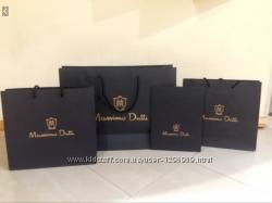 Брендовые бумажные пакеты massimo dutti