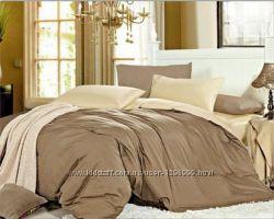 Однотонное постельное белье сатин