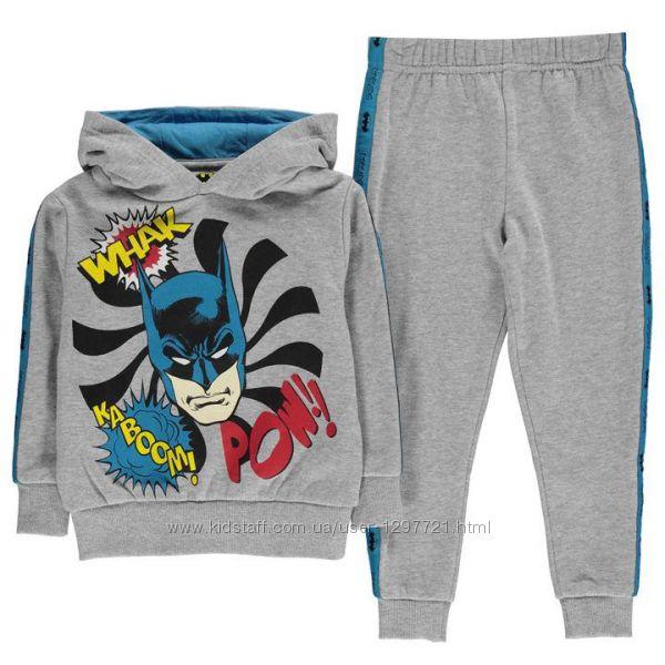 Batman Комплект худи джоггеры Бэтмэн для мальчика 4-5лет 7-8лет