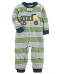 Carters Пижама слип человечек флис для мальчика 12мес