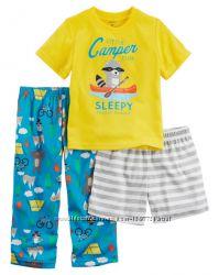 Carters Комплект пижам из нежного мягкого джерси хлопок для мальчика 3Т