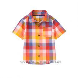 Crazy8 Рубашка в клетку для мальчика 3Т 4Т