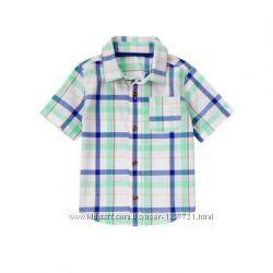 Crazy8 Рубашка в клетку для мальчика 2Т