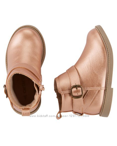Carters Ботинки для девочки р-ры 27 28 29