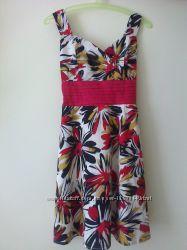 Шикарное сатиновое платье-сарафан KUCH