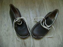 Ботинки туфли новые кожаные демисезонные 29 р.