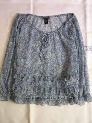 Блузка стиль бохо этно  на размеры 36-38-40 евро h&m