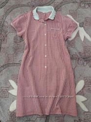 Подростковое, комфортное и приятное к телу платье marks & spencer