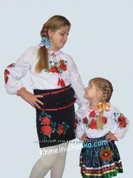 Вышиванки , юбки, костюмы  для девочек