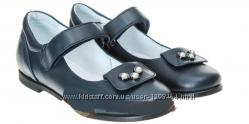 Кожаные туфли с бусинками Мальвы 109Ш-240