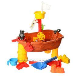 Столик песочница Морской корабль