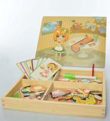 Кухня гардероп детская из магнитов MD 1337-3
