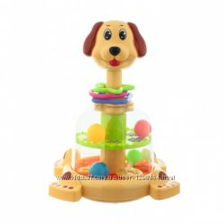 Юла Собака с яркими шариками SL83060
