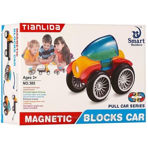 Магнитный конструктор Машина  385