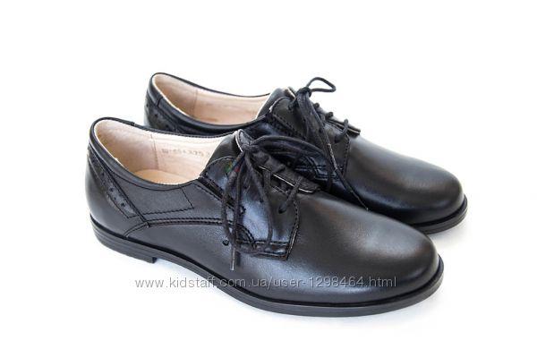 Кожаные школьные туфли Мальвы 109Ш-451