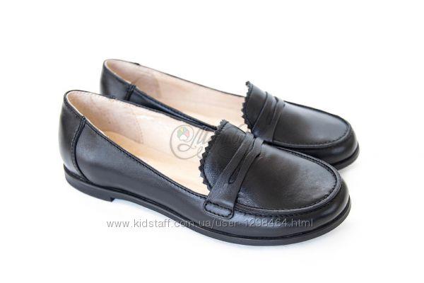 Шкіряні шкільні туфлі Мальви 109Ш-369