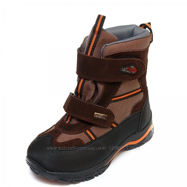 Зимние термо ботинки Frost с нат. мехом Panda Турция 107329-8 коричн