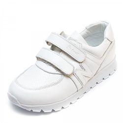 Кожаные белые кроссовки турция под New Balance 1079936