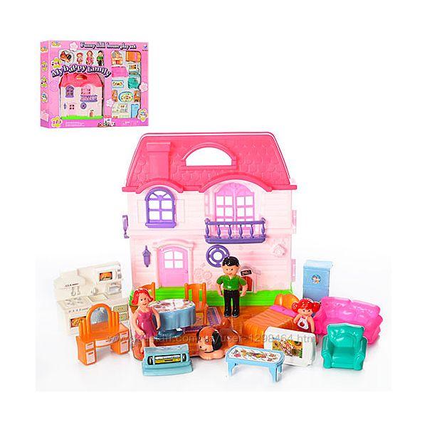 Домик для куклы с мебелью 8035