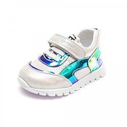 Кожаные кроссовки для первых шагов Smal 107
