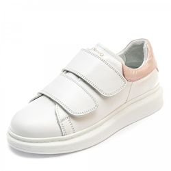 Кроссовки Новый стиль K. Pafi 107478 бело- розовые