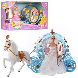 Кукла принцесса и Карета 28903A