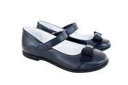 Кожаные туфли Мальвы 109Ш-321М синие