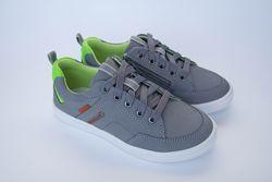 Кожаные кроссовки кеды для мальчика Мальвы 109Ш-462 р.27-36