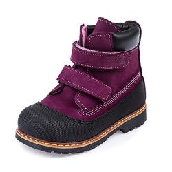Кожаные осенние ботинки Panda 107200B р.21-25