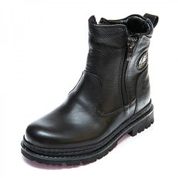 Кожаные зимни ботинки на цигейке Dalton 1078063 р.31-36