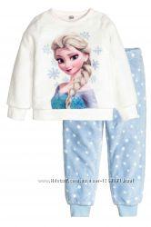 Тёплая пижама Frozen р. 92