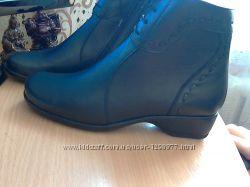 Ботинки женские новые кожаные весна-осень