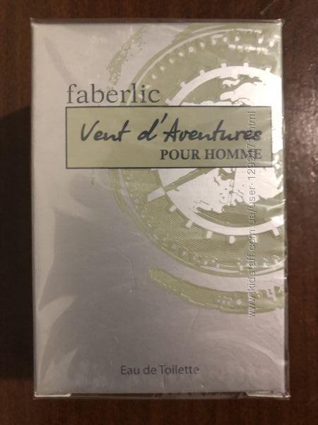 Туалетная вода для мужчин Vent d &acuteAventures от Faberlic