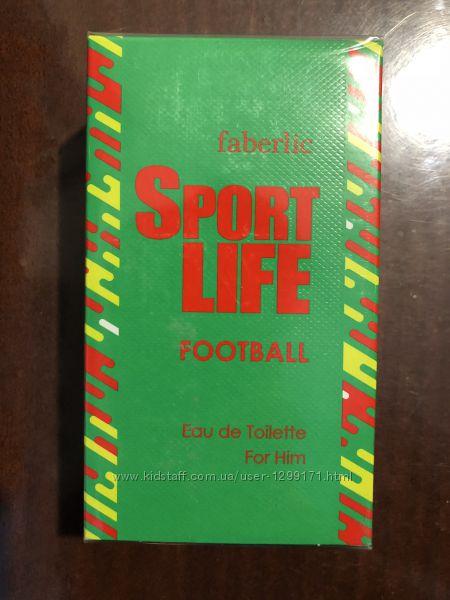 Туалетная вода Sportlife Football, Sportlife Ice от faberlic