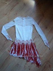 шикарное платье для бальных танцев