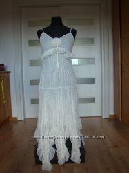Воздушное платье для бальных танцев