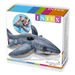 Надувной плот Intex 57525 акула.
