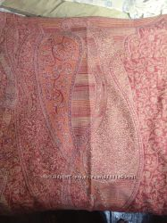 Шарф женский с бахрамой.
