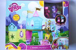Игровой набор Замок My little Pony, свет, 4 пони, аксессуары