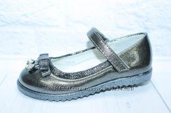 Детские туфли на девочку тм Kimboo, р. 26, 27, 28, 29, 30, 31