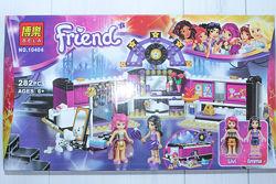 Конструктор для девочек Friends Гардеробная поп-звезды, 282 детали